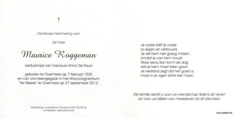 Maurice Roggeman
