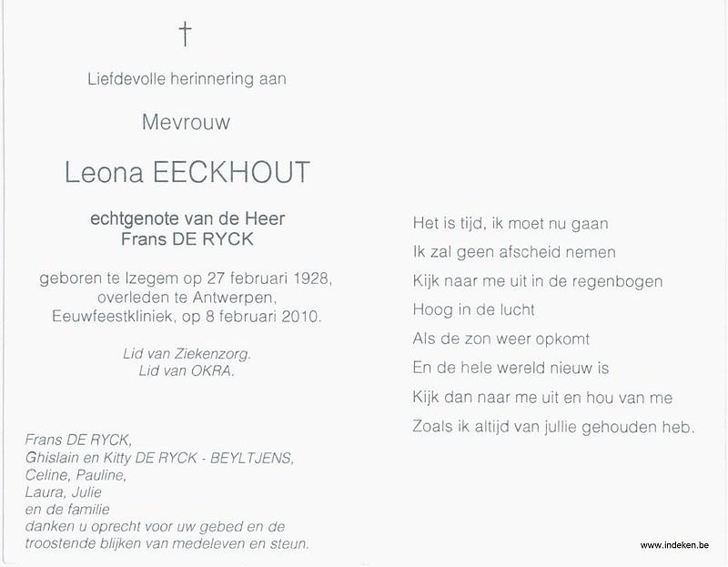 Leona eeckhout