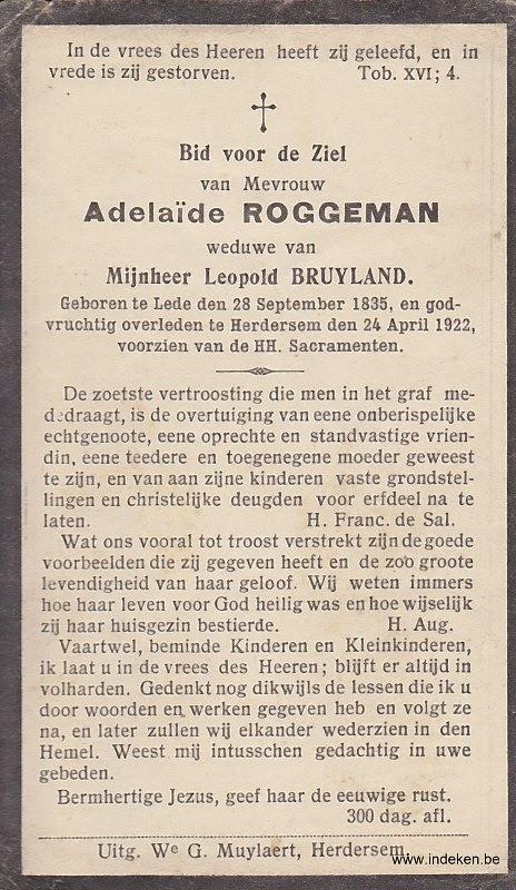Adelaide Roggeman