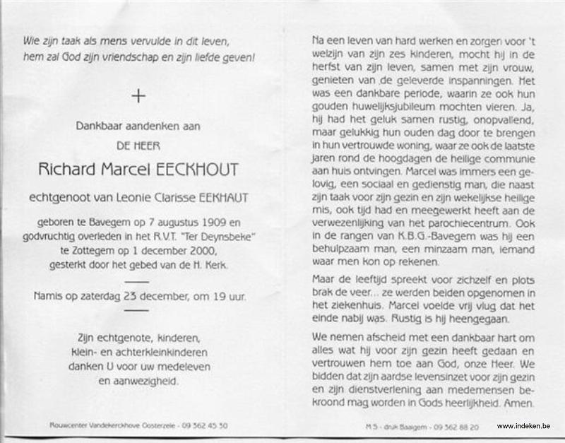 Richard Marie Eeckhout
