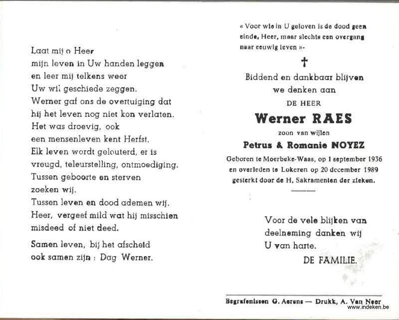 Werner Raes