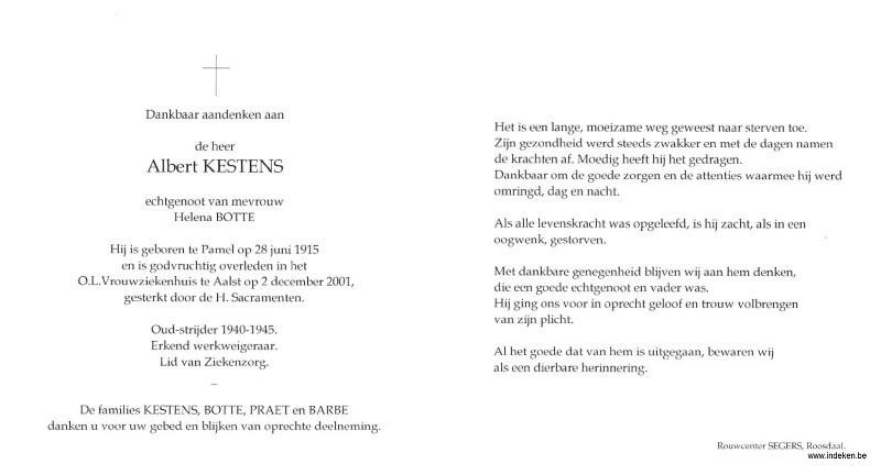 Albert Kestens