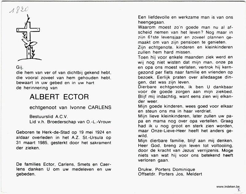 Albert Ector