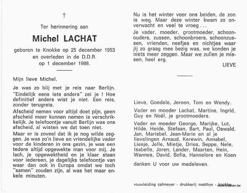 Michel Lachat