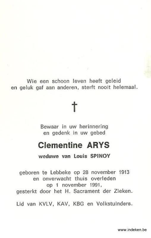 Clementine Arys