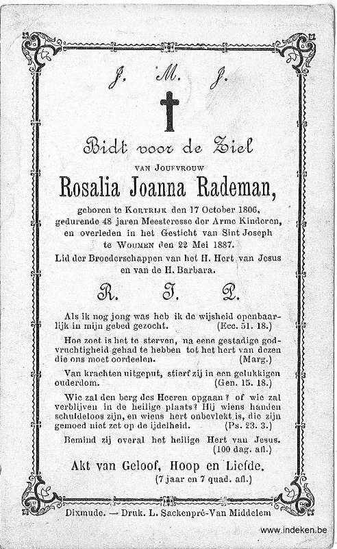 Rosalia Joanna Rademan