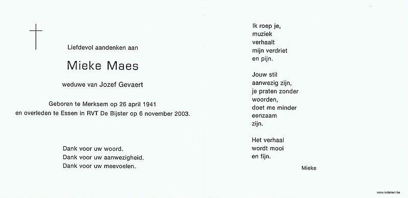Mieke Maes