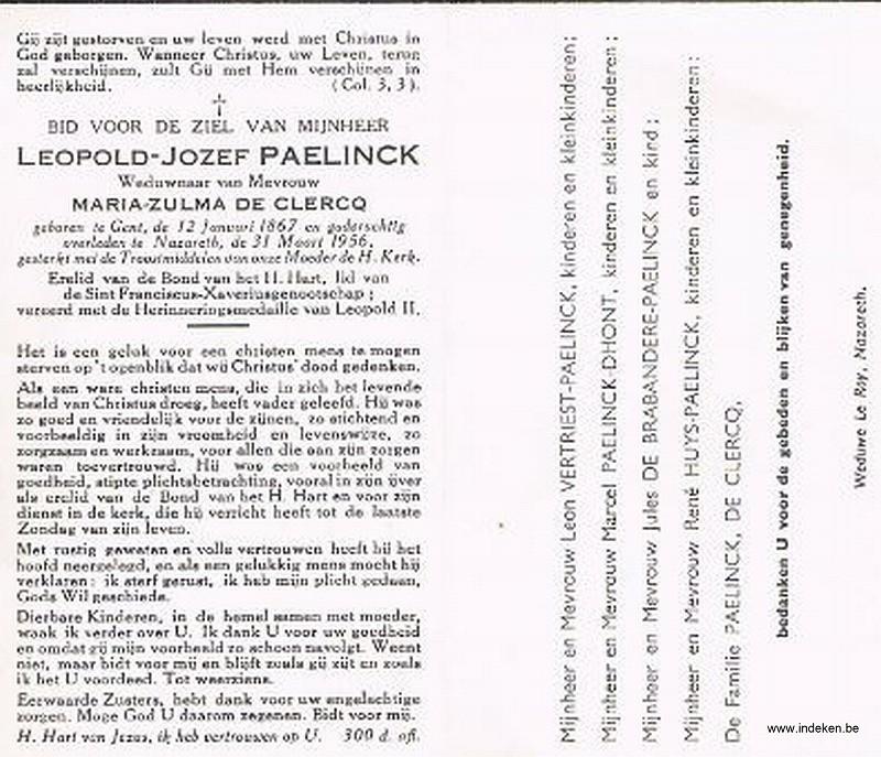 Leopold Jozef Paelinck