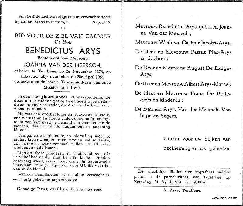 Benedictus Arys