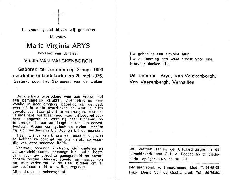 Maria Virginia Arijs