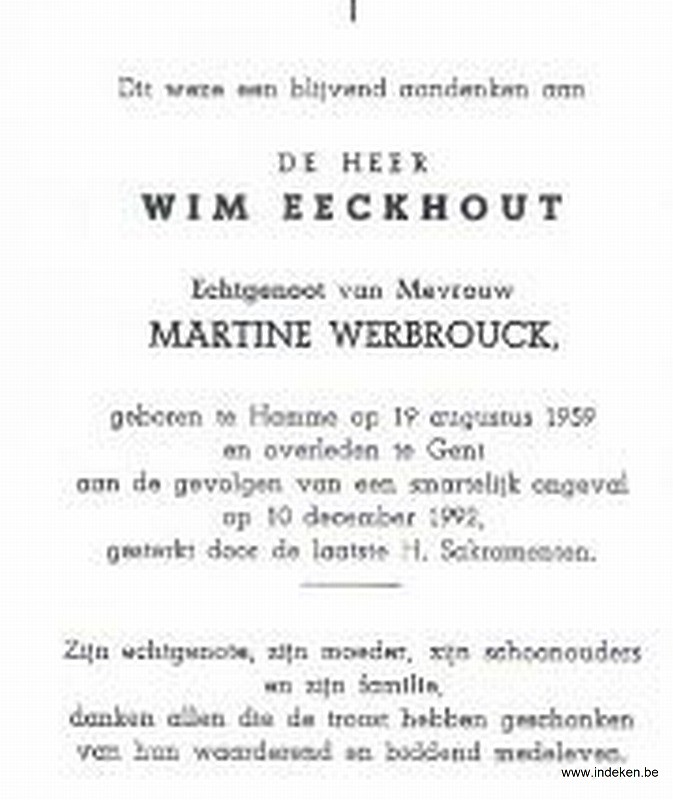 Wim Eeckhout
