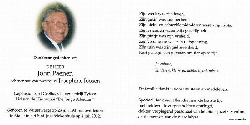 John Paenen