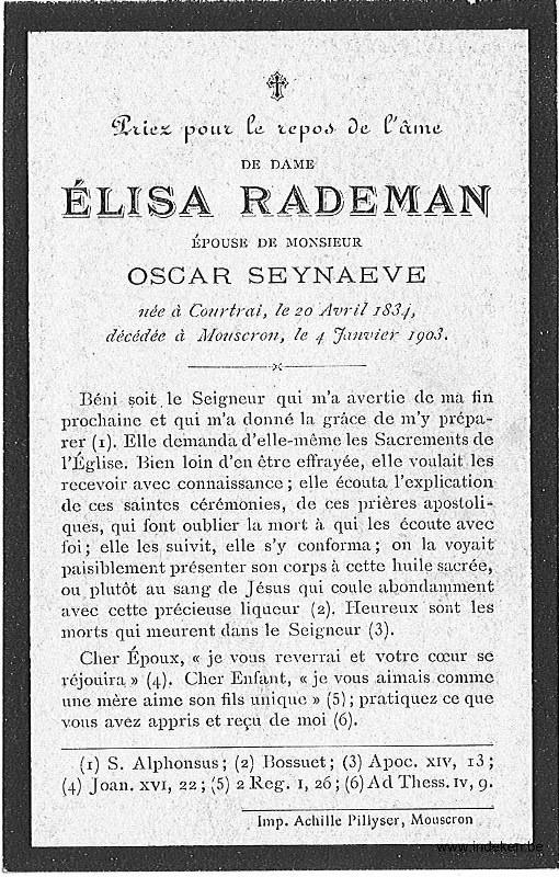 Elisa Marie Rademan