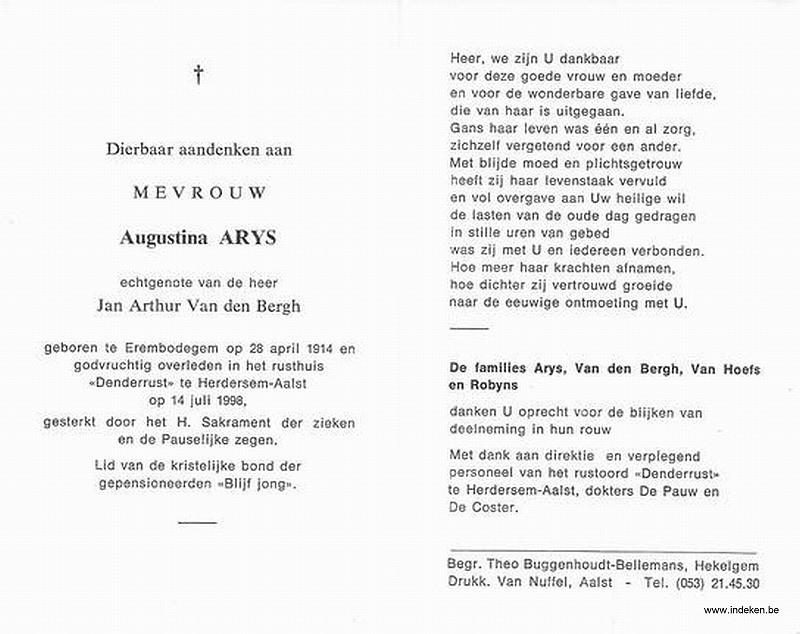 Augustina Arys