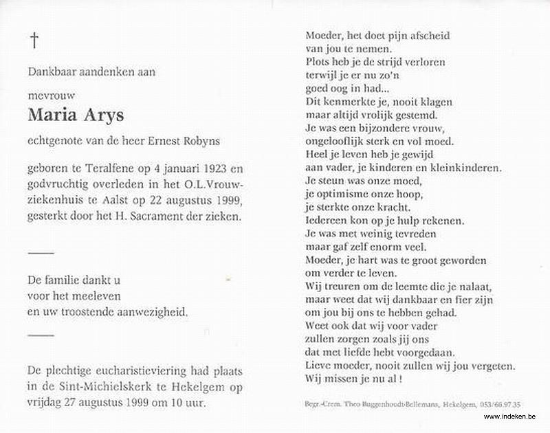 Maria Arys