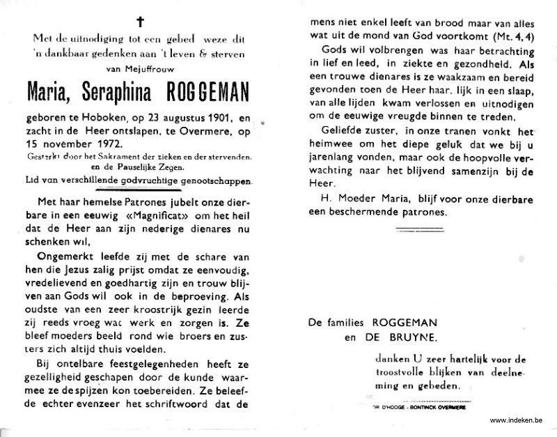 Maria Seraphina Roggeman