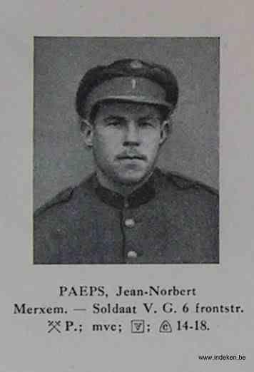 Joannes Norbertus Paeps
