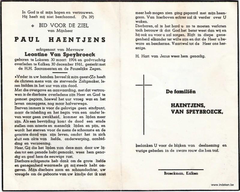 Paul Haentjens