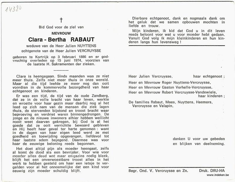 Claire Berthe Rabaut
