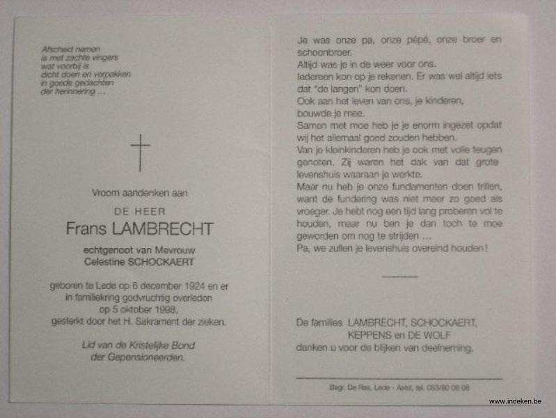 Frans Lambrecht
