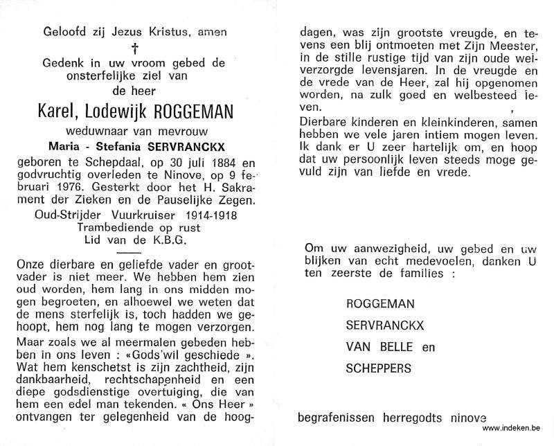 Karel Lodewijk Roggeman