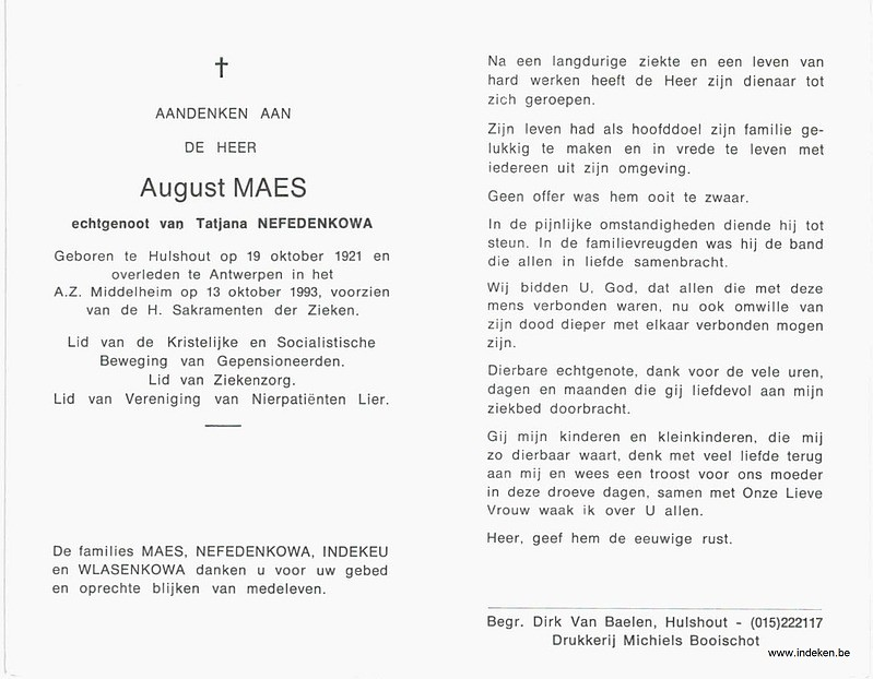 August Maes