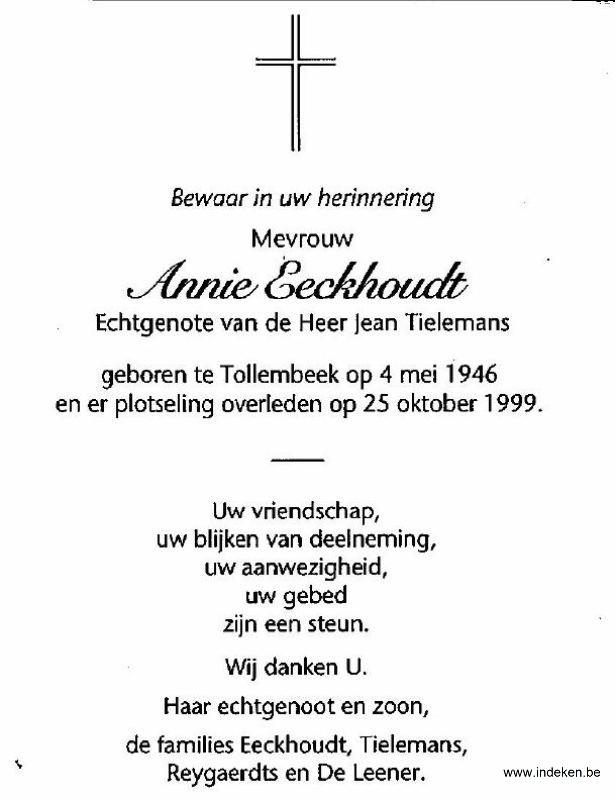 Annie Eeckhoudt