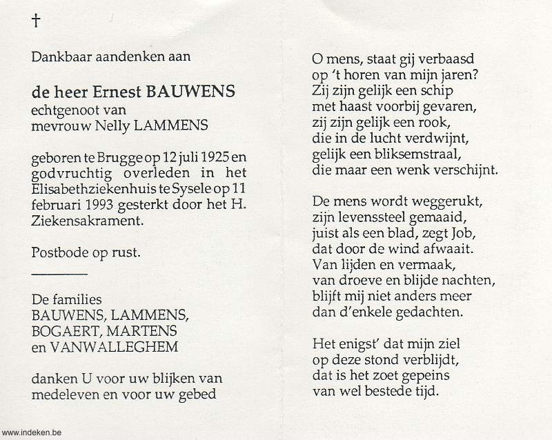 Ernest Bauwens