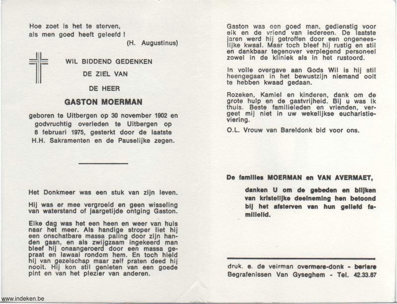 Gaston Gustaaf Moerman