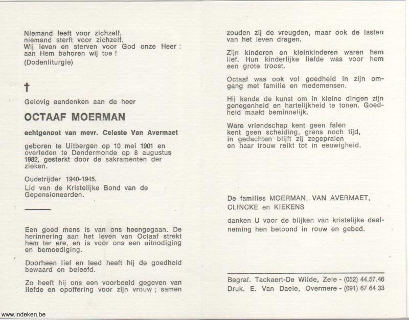 Octaaf Constant Moerman