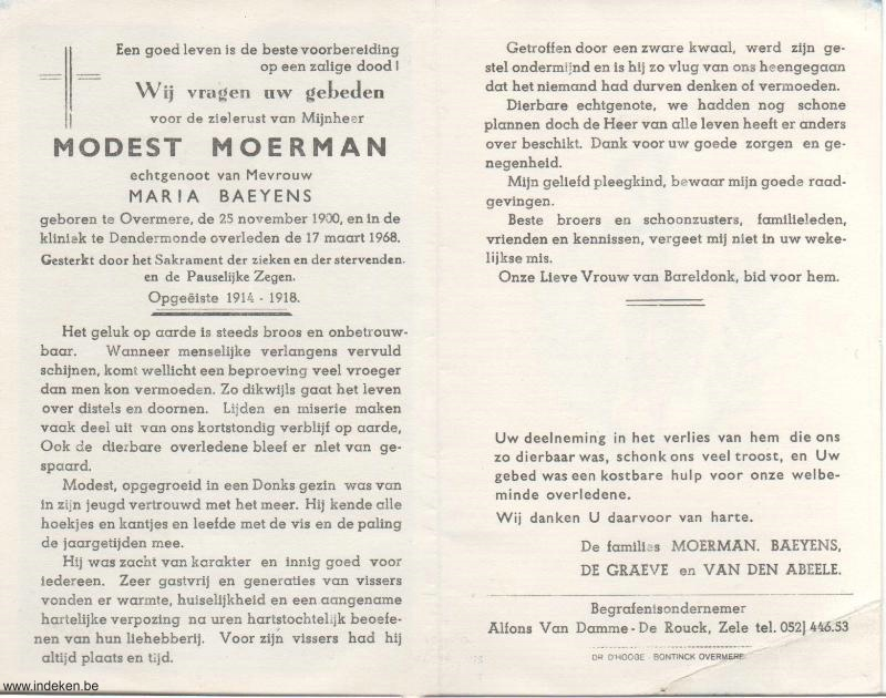 Modest Moerman