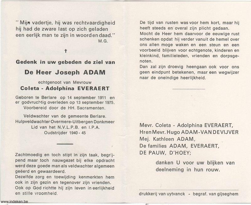 Joseph Adam