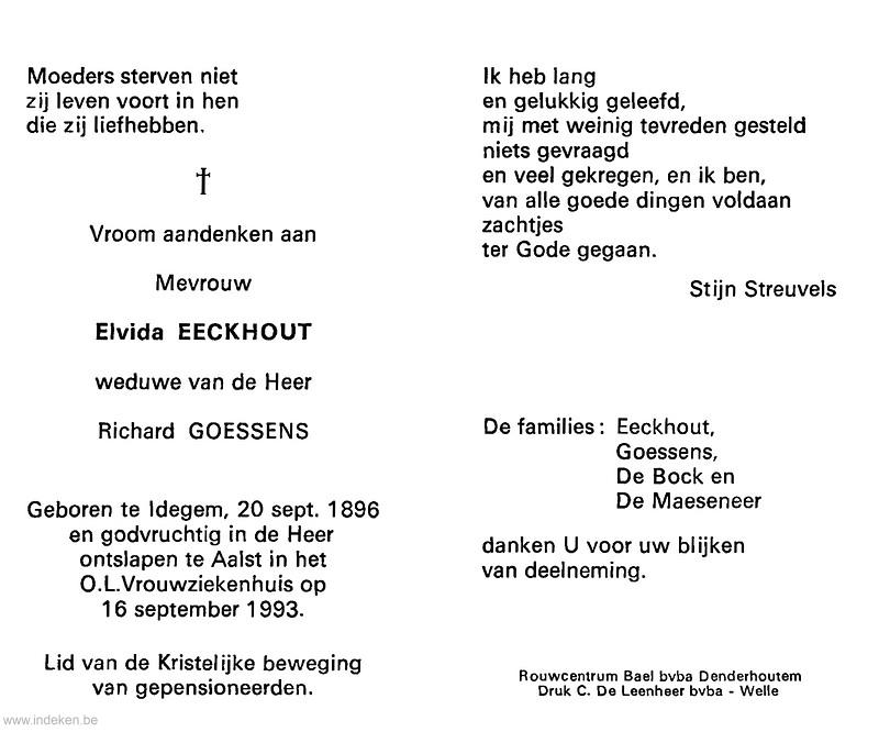 Elvida Eeckhout