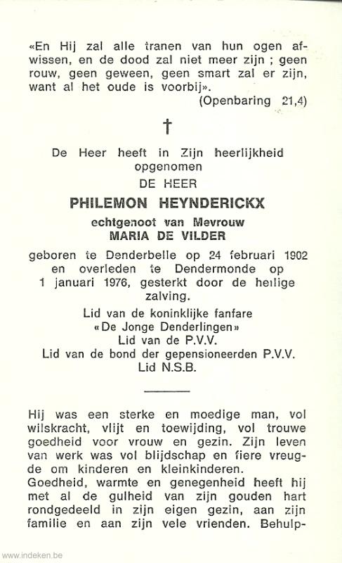 Philemon Heynderickx