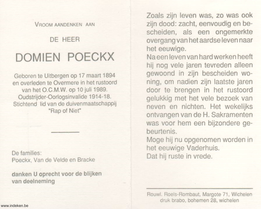 Domien Poeckx