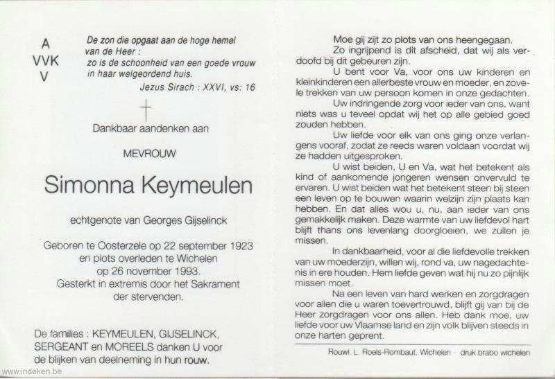 Simonna Keymeulen