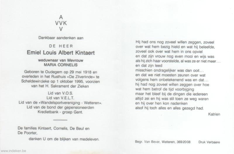 Emiel Louis Albert Kintaert