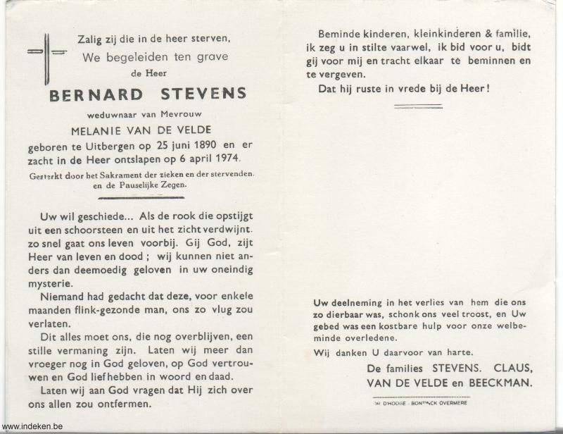Bernard Stevens