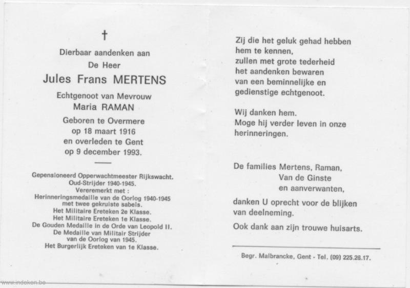 Jules Frans Mertens