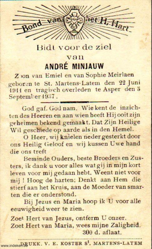André Minjauw