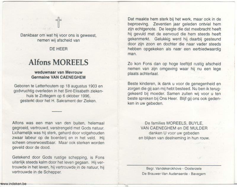 Alfons Moreels
