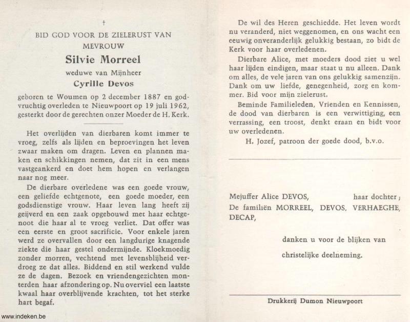 Silvie Morreel