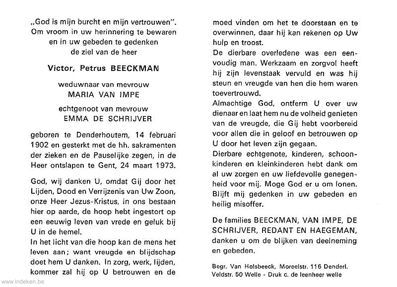 Victor Petrus Beeckman
