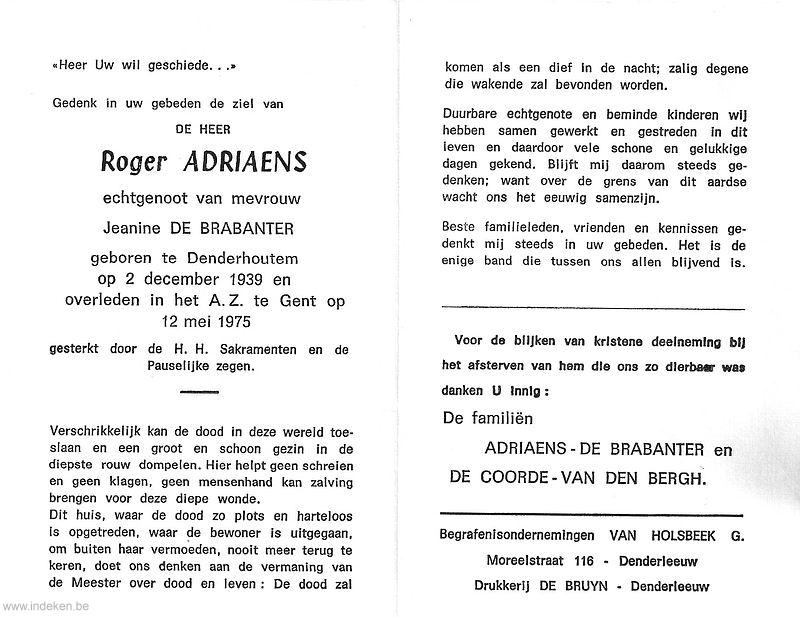 Roger Adriaens