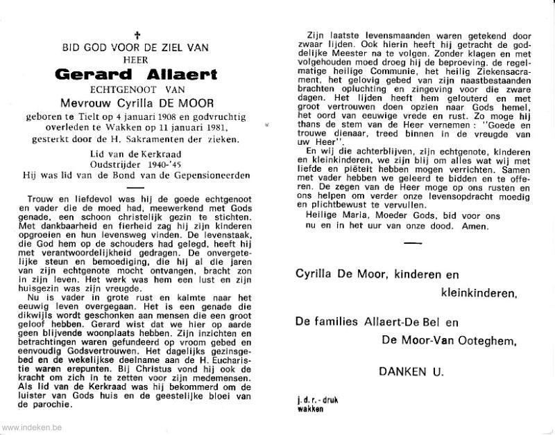 Gerard Allaert