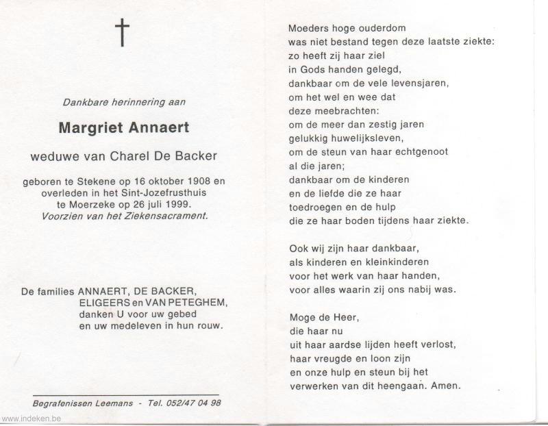 Margriet Annaert