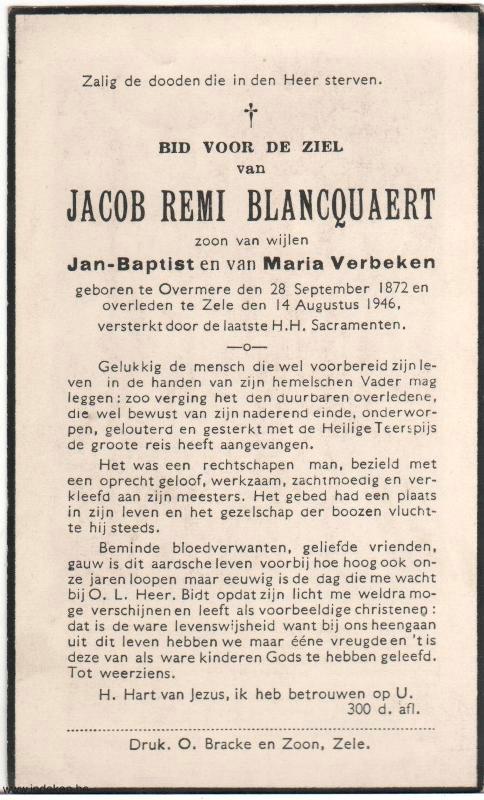 Jacob Remi Blancquaert