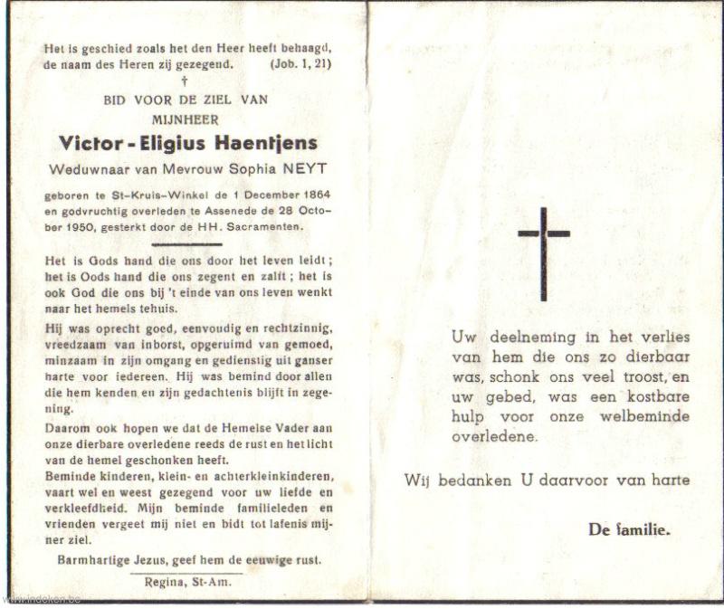 Victor Eligius Haentjens