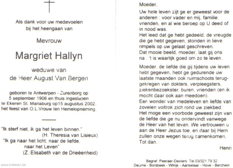 Margriet Hallyn