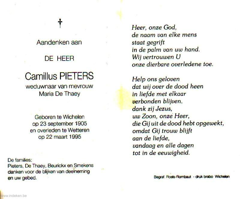 Camillus Pieters
